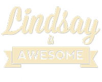 Lindsay is Awesome Logo